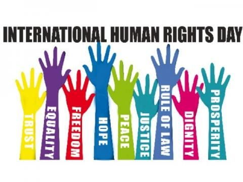 International Human Rights Day - December 10 every year--Human Rights Day commemorates and celebrates the day in 1948 on which the United Nations General Assembly adopted the Universal Declaration of Human Rights.