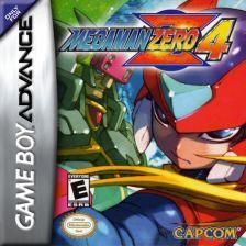 Mega Man Zero 4 Nintendo Game Boy Advance cover artwork