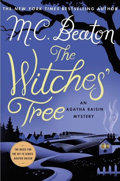 The Witches' Tree continues the tradition in M. C. Beaton's beloved Agatha Raisin mystery series--now a hit T.V. show. Cotswolds inhabitants are used to inclement weather, but the night sky is especially foggy as Rory and Molly Devere, the new vicar and his wife, drive slowly home from a dinner party in their village of Sumpton Harcourt.