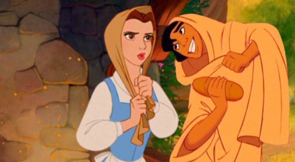 Aladdin, we don't do cross dressing, especially in Muslim countries.
