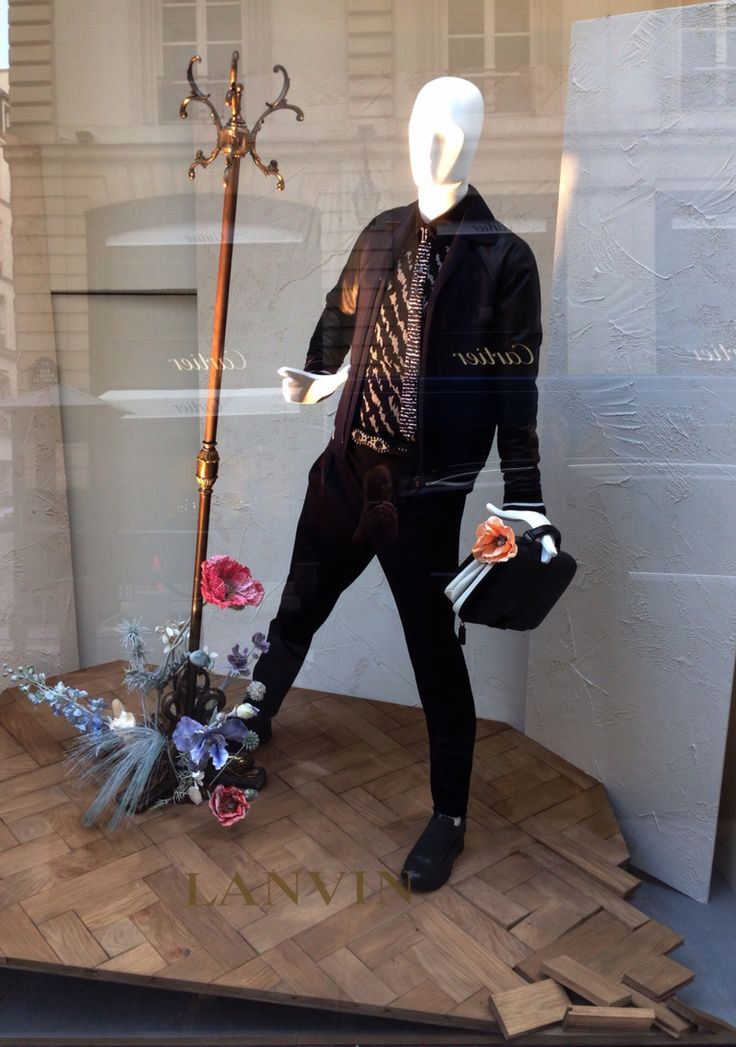 """LANVIN,Paris,France, """"Personality is to a man what perfume is to a flower"""", pinned by Ton van der Veer"""