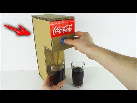 How to Make Coca Cola Soda Fountain Machine at Home - YouTube