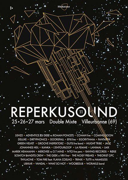 Reperkusound Poster