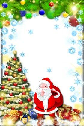Marcos De Navidad Para Ninos Fotomontajes Navidenos Infantiles - Imagenes-infantiles-de-navidad