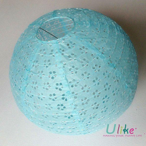 blu pizzo pois cascata lanterna di carta homedecor favore del partito--Id prodotto:1129633893-italian.alibaba.com