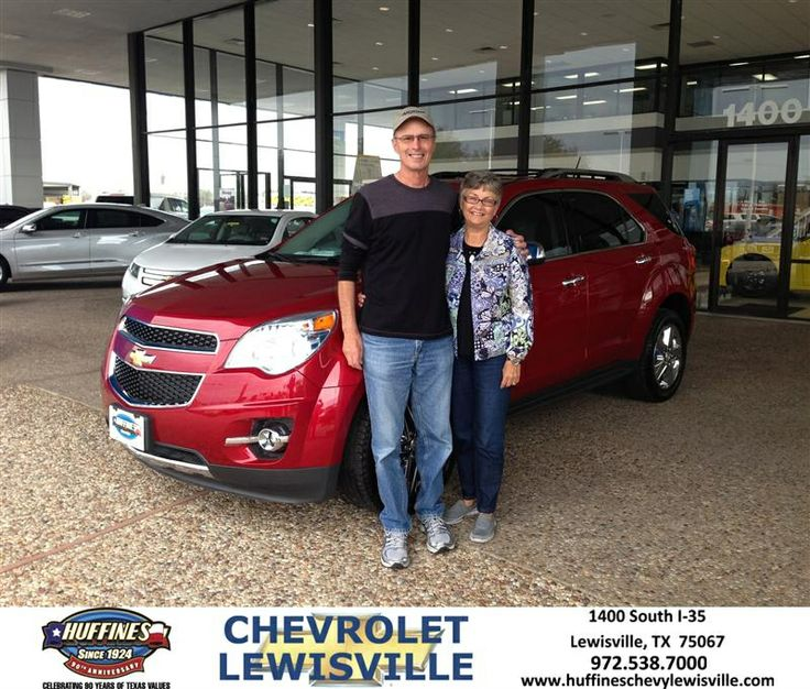 Congratulations to Lynn Hartter on your #Chevrolet #Equinox purchase from Henry Boyd at Huffines Chevrolet Lewisville! #NewCar