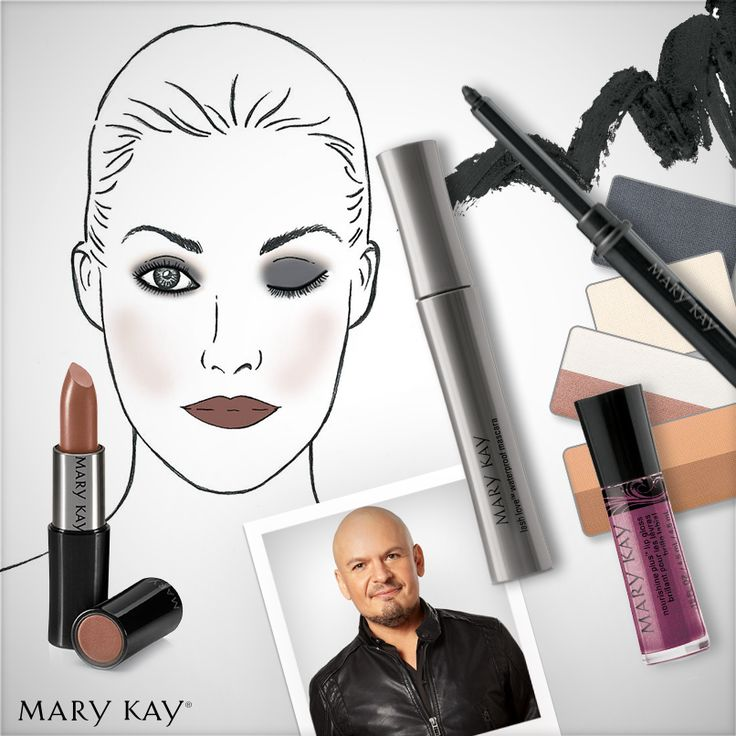 O maquiador Luis Casco acredita que os olhos devem se sobressair.