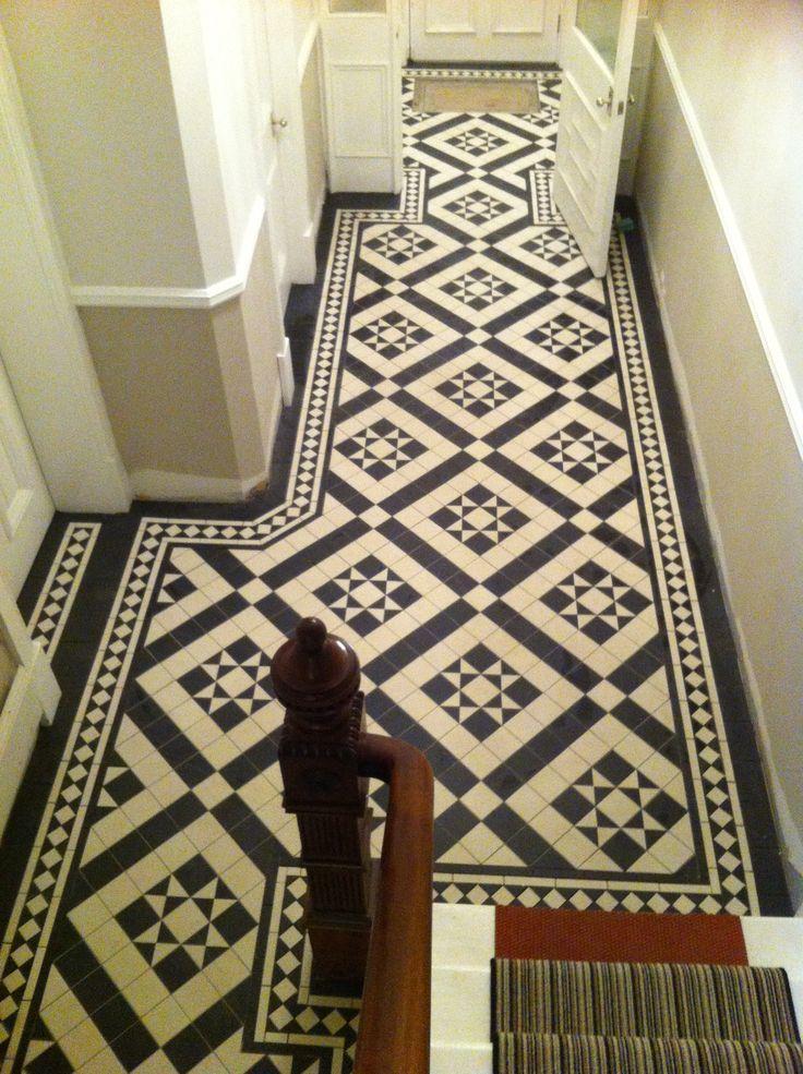 Victorian geometric tiling by Timelesstilingsolutions.com