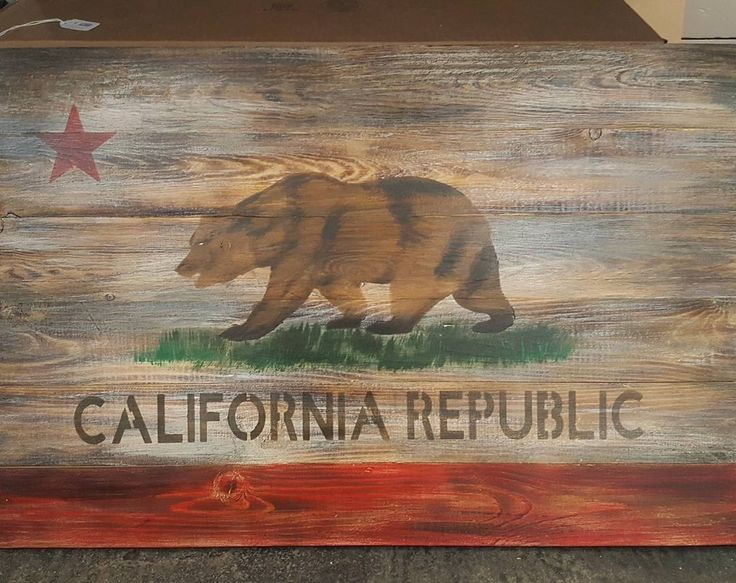 Excited to share the latest addition to my #etsy shop: Distressed wood California Republic flag. http://etsy.me/2nqd6Z0 #art #painting #white #brown #dollarmountain