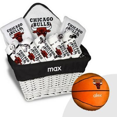 11 best chicago bulls baby gifts images on pinterest baby gifts our personalized chicago bulls x large gift basket is a perfect baby gift with burp negle Images