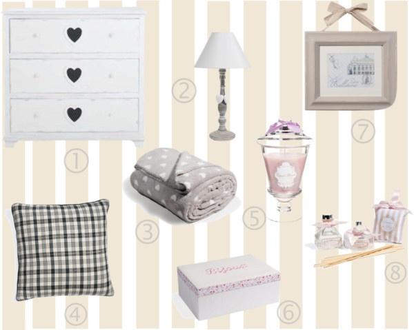 Maison du Monde -Shabby chic bedroom