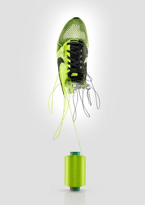 The 3D Agency   Nike by Unit c.m.a, via Behance