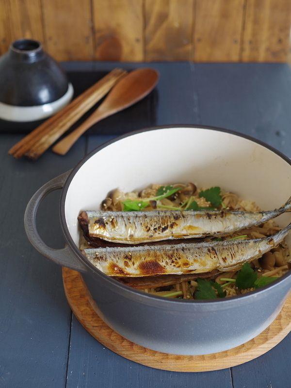 秋刀魚としめじの炊き込みごはん by ささき 礼奈 | レシピサイト ...
