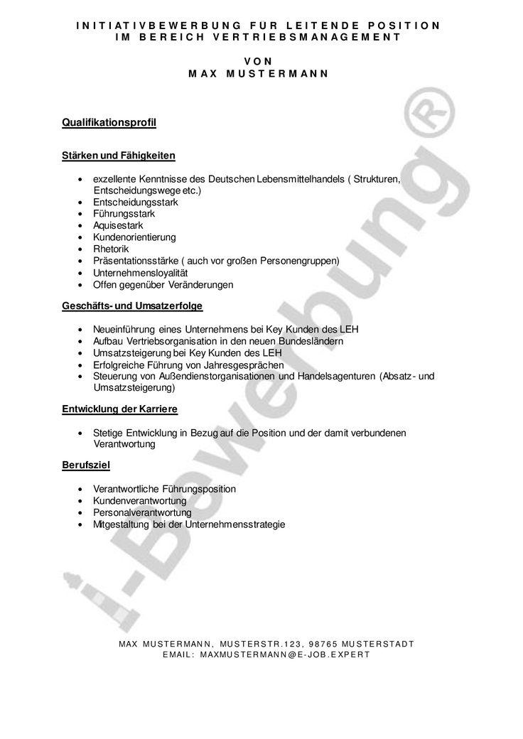 bewerbungsschreibenorg 83 besten qualifikationsprofil formulierung initiativbewerbung - Starken Bewerbung