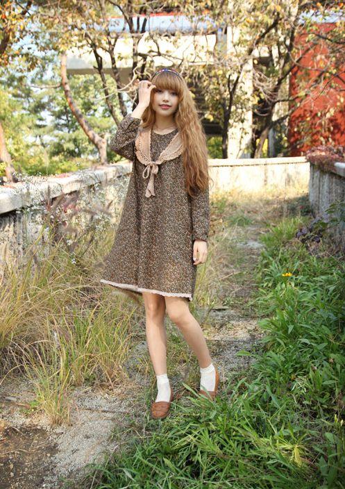 Aaaaaaah~ Mori girl fashion *___*