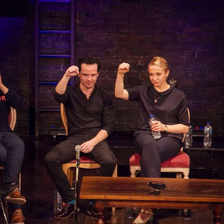 Awesome United Andrew Scott & Amanda Abbington