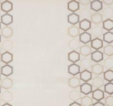 Prestigious Textiles    Nouveau Fabric - Ivory 3077/007