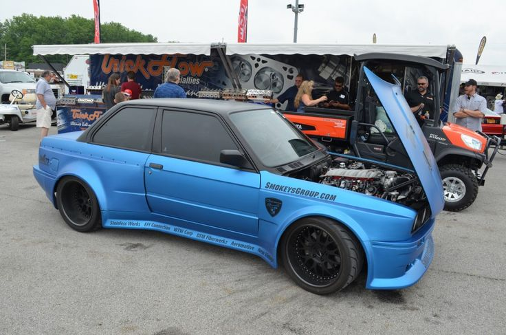 BMW E30 with LSh