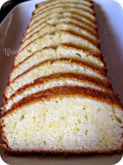 Life's Simple Measures: TWD Baking with Julia: Lemon Loaf Cake
