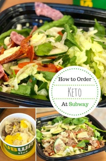 What Should I Order at Subway? Keto Dining Guide in 2019 KETO Fast
