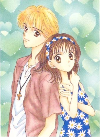 My favorite couple growing up. :) Yuu Matsuura & Miki Koishikawa from Marmalade Boy. I have all the manga AND all the anime! :D
