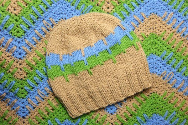 Knitting Pattern Hat Top Down : Top Down Elongated Stitches Baby Hat - Baby Clothing ...