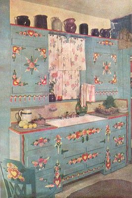 Peter Hunt painted kitchen...