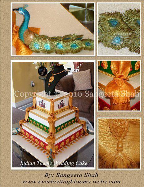 Indian Wedding Theme Peacocks & tassels