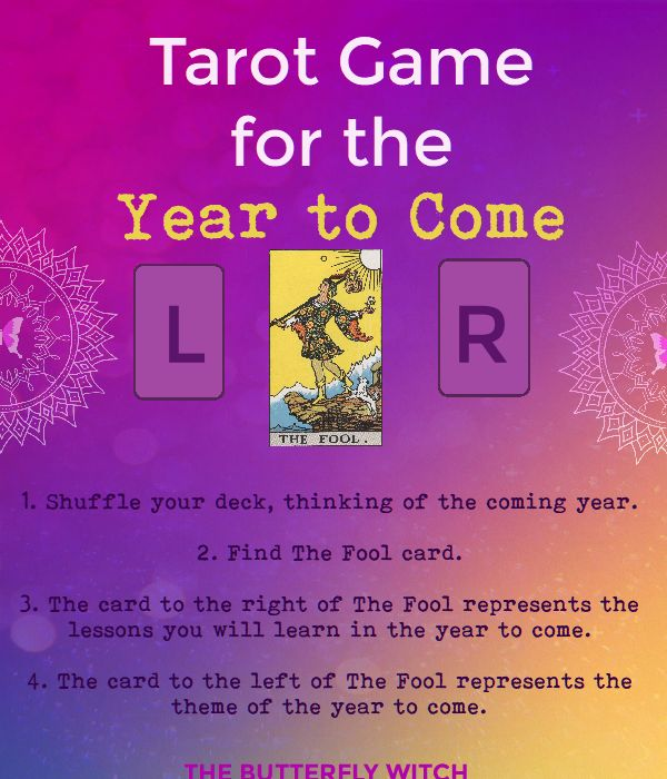 The Butterfly Witch - Tarot for The Year to Come