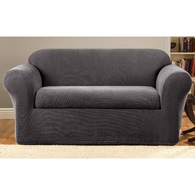surefit stretch metro 2piece sofa slipcover