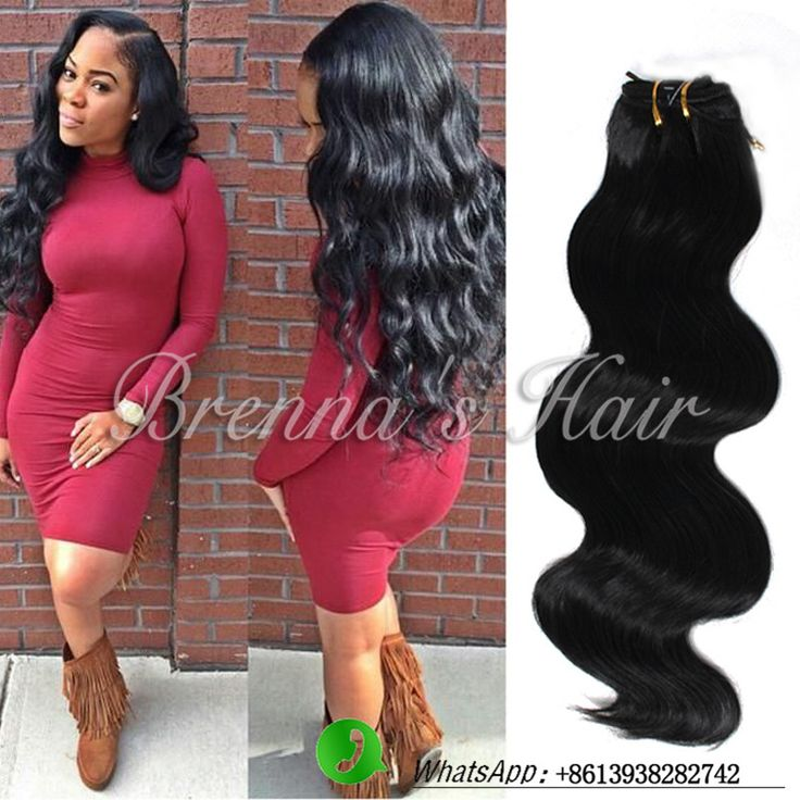 Black women Cheap hair bundles synthetic hair Extensions 2Bundles Synthetic Body Wave Hair Weft Length Hair Weave Free shipping