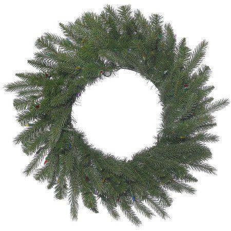 Vickerman 48 inch Dunhill Fir Artificial Christmas Wreath, Unlit, Green