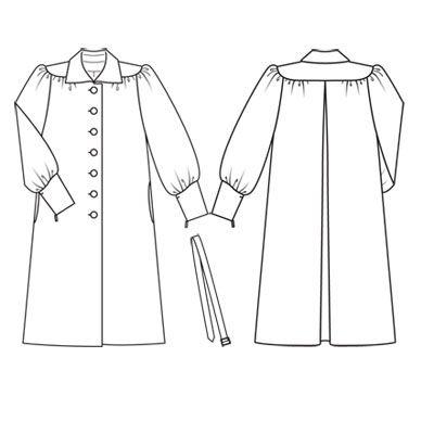 blouse 102 (plate) - 01/2011 RÉTRO SENSUEL: lignes près du corps et étoffes fluides façon années 40 burdafashion.com