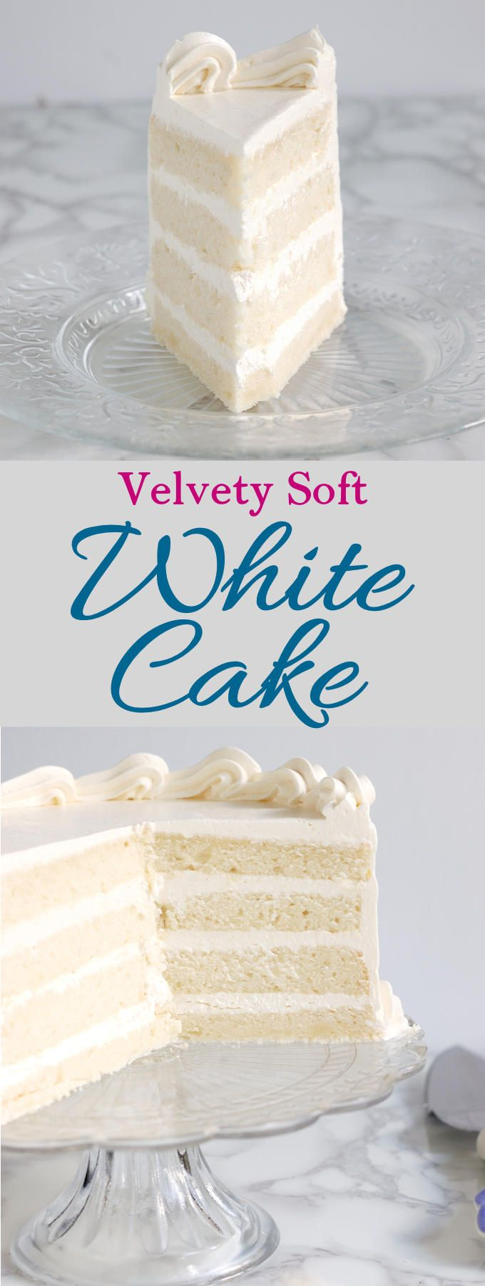 Velvety, soft white cake made from scratch is easy to do. How you mix the cake makes a big difference. Find out why the reverse creaming technique is the way to get a white cake with a tender and moist crumb.