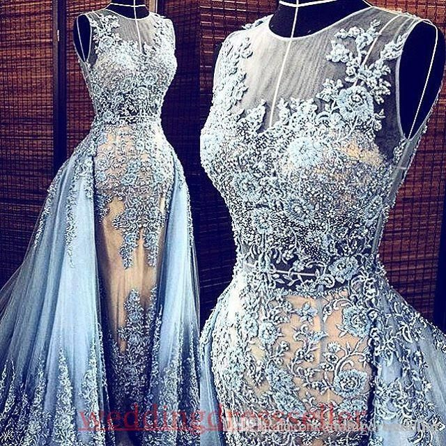 Show your best to all people even in the evening and then get real images light blue elie saab 2016 evening dresses detachable train transparent formal dresses party pageant gowns celebrity prom long in sweety_wedding and choose wholesale arabic evening dresses,black and white evening dress and black evening dresses with sleeves on DHgate.com.