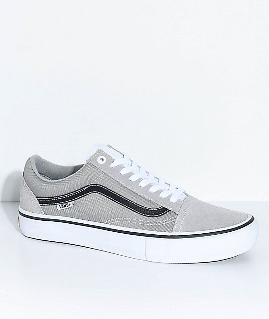 b14c0a7b92e2 Follow 🐝yonce   get posts on the daily💦  hayleybyu Vans Old Skool Pro  Drizzle Grey..actually do need these