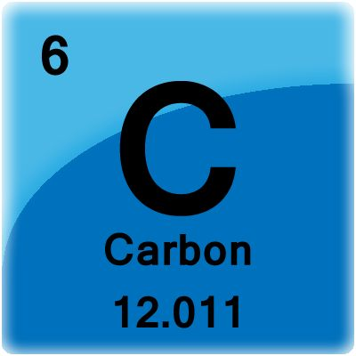 Convert Grams To Moles - Sample Problem: This is a periodic table tile for the element carbon.