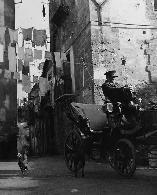 Palermo Italy 1949-53 Photo: Fosco Maraini