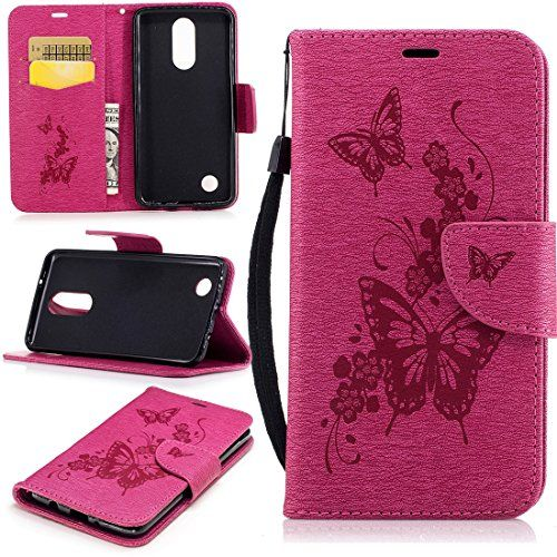 LG Aristo Case, LG K8 2017 Case, LG LV3 Case, Love Sound [Wrist Strap] PU Leather Wallet Case Flip Cover Built-in Card Slots Stand for LG K8 2017 / LG Aristo / LG LV3 - A-03-Butterfly Flower-Rose  https://topcellulardeals.com/product/lg-aristo-case-lg-k8-2017-case-lg-lv3-case-love-sound-wrist-strap-pu-leather-wallet-case-flip-cover-built-in-card-slots-stand-for-lg-k8-2017-lg-aristo-lg-lv3/?attribute_pa_color=a-03-butterfly-flower-rose  Note:This case is fit for LG K8 2017 / L