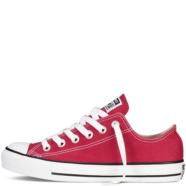 Converse - CT All Star Classic Low Canvas Sneaker - Red