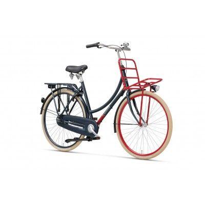 Rower Miejsk Damski Batavus CNCTD. Stylowy miejski rower idealny do pracy oraz na wycieczki za miasto dostępny w wielu wersjach kolorystycznych. http://damelo.pl/damskie-rowery-miejskie-stylowe/776-rower-miejski-damski-batavus-cnctd.html