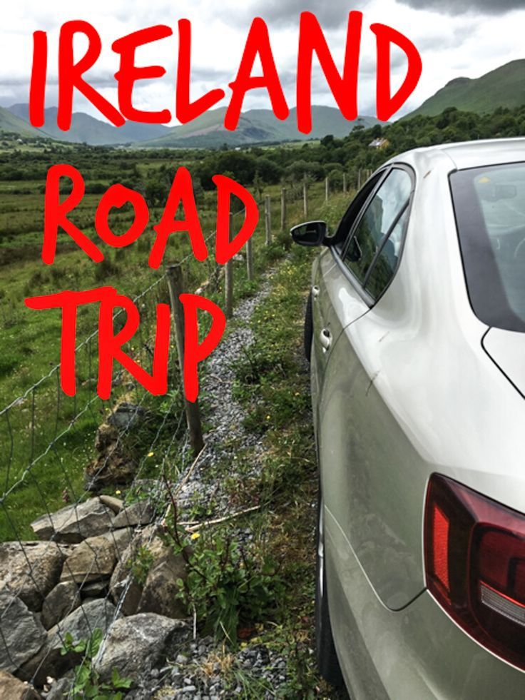 The best way to tour Ireland is by car. Check out our Ireland road trip to see where we went during our magical one-week adventure on the Wild Atlantic Way.