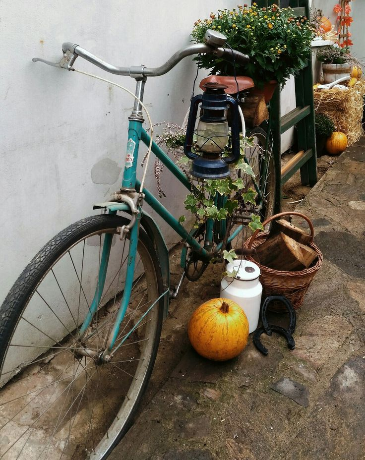 Podzimní dekorace, kolo