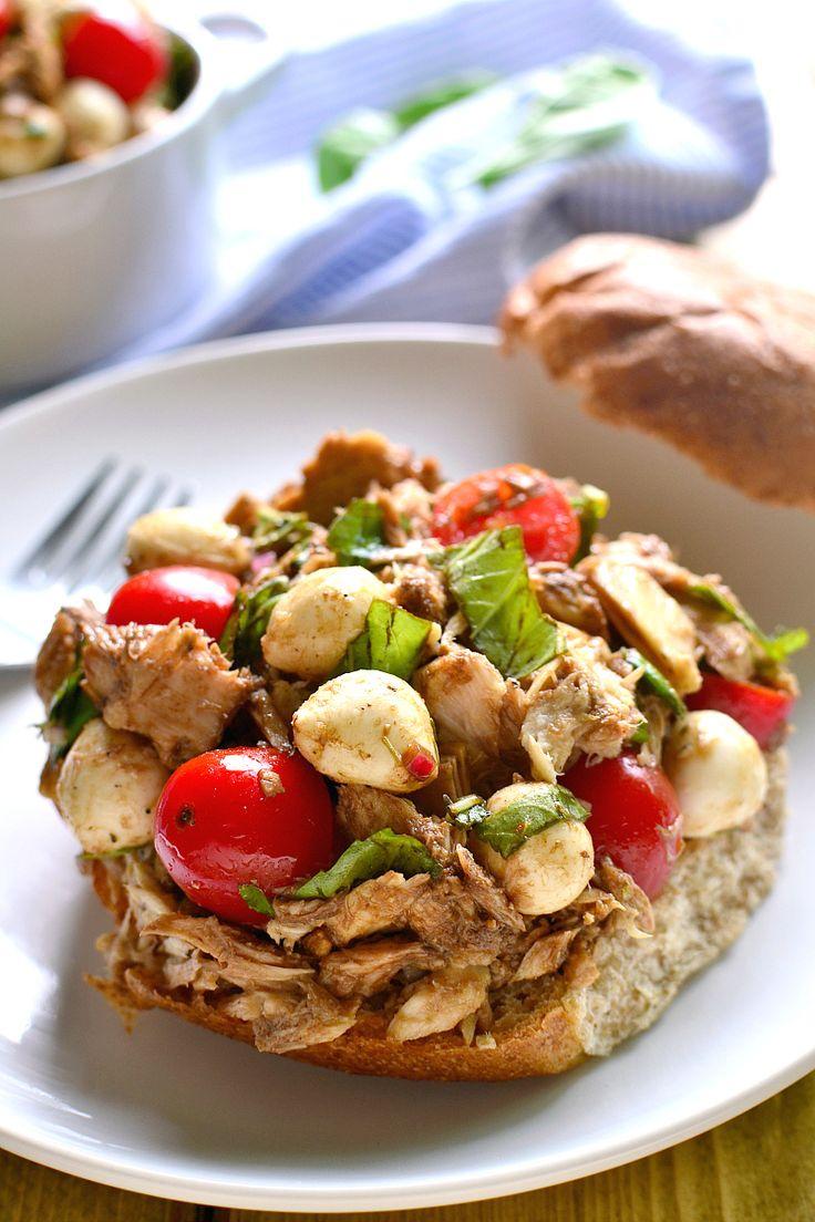 ... Tuna Recipes on Pinterest | Tuna salad sandwiches, Tuna wrap and Tuna