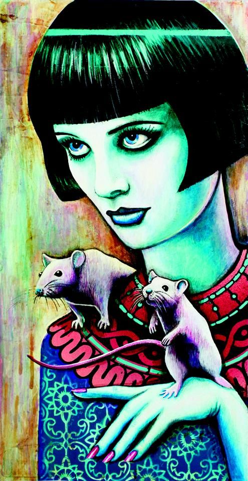 Claire Pinatel - diana_and_the_rats