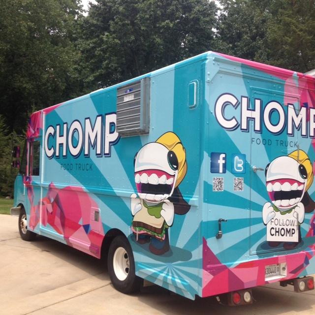 Chomp Chomp Chomp Food Truck