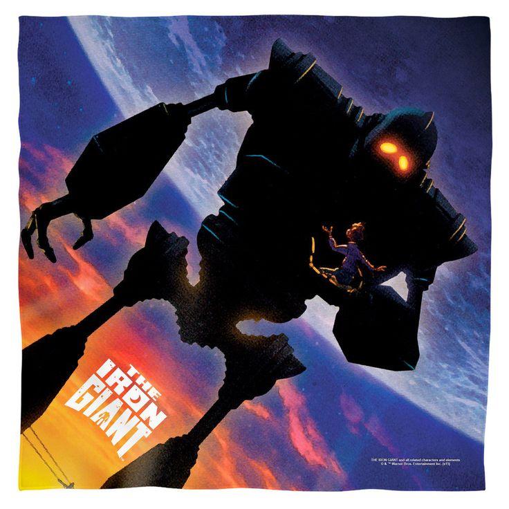 Iron Giant Poster Bandana