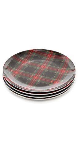 Pendleton, The Portland Collection Tartan Plate Set, $ 20.80