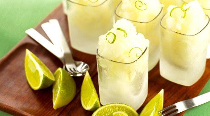 Granita al profumo di lemongrass e zenzero #Granita, #Lemongrass, #Lime, #Ricetta, #Ricette, #Sorbetto, #Zenzero http://eat.cudriec.com/?p=5630