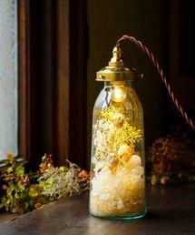 m.soeur(エムスール)のflower bottle light *(中)(照明)|詳細画像